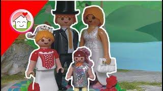 getlinkyoutube.com-Playmobil Film deutsch Die Hochzeit von Kommissar Overbeck und Sarah von family stories/ Kinderfilm