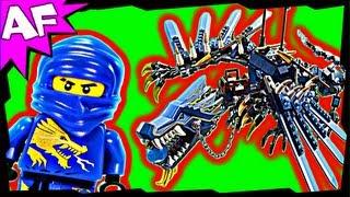 getlinkyoutube.com-LIGHTNING DRAGON Battle 2521 Lego Ninjago Stop Motion Set Review