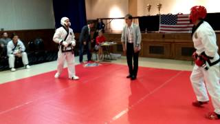 Tang Soo Do Tournament Sparring - Master Nick Capuozzo