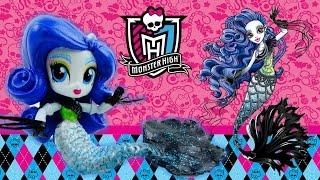 getlinkyoutube.com-New Custom Monster High Sirena Von Boo Mermaid Doll From My Little Pony Equestria Girl Tutorial