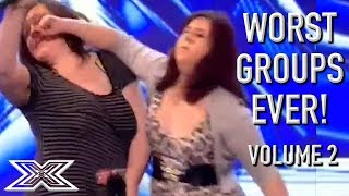 The WORST GROUP AUDITIONS On X Factor! Volume 2   X Factor Global