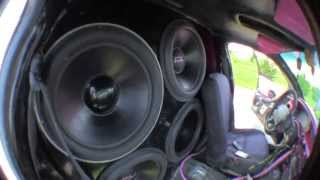 LOUDEST GRAND PRIX IN THE WORLD!!! (4) 18s on (4) Incriminator audio 40.1s (18000Watts RMS)