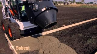 getlinkyoutube.com-Bobcat Concrete Mixer Attachment