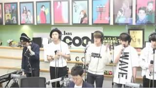 getlinkyoutube.com-[150522] 방탄소년단 BTS I NEED U SLOW JAM VER. LIVE ON 가요광장 보이는 라디오 VIDEO CUT