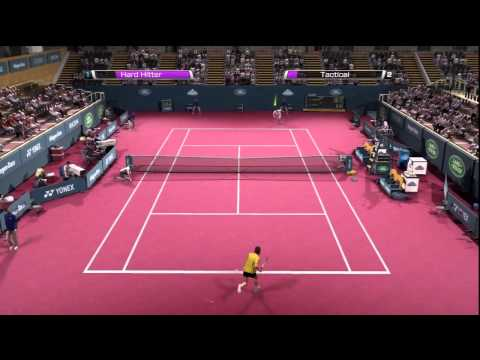 Virtua Tennis 4 HD Gameplay Compilation