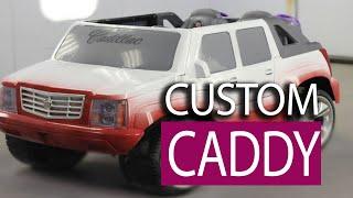getlinkyoutube.com-Custom Painted Job - Power Wheels Cadillac