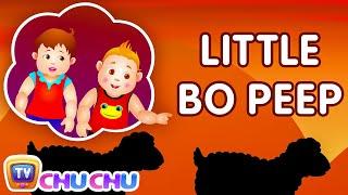 getlinkyoutube.com-Little Bo Peep Has Lost Her Sheep Nursery Rhyme - ChuChu TV Kids Songs