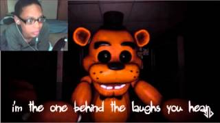 Mr.Fazbear - Five Nights At Freddy's Song REACTION | LEADER OF THE BAND