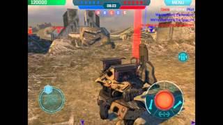getlinkyoutube.com-Rhino-Walking War Robots(WWR)-4(GAU Panisher, S-25 Tulumbar)