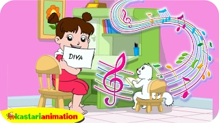 getlinkyoutube.com-Sudah Malam, Waktunya Diva Belajar | Lagu Anak Indonesia | Kastari Animation Official