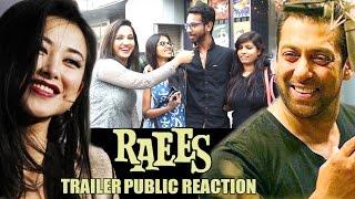 getlinkyoutube.com-Shahrukh's Raees TRAILER Public Reaction, Salman Khan & Zhu Zhu To SING DUET SONG In TUBELIGHT