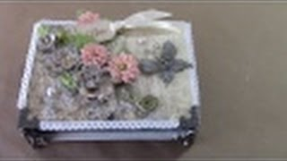 getlinkyoutube.com-TUTORIAL - LEARN HOW TO MAKE THIS LOVELY KEEPSAKE JEWELRY BOX -  Designs by Shellie