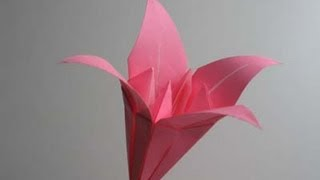 getlinkyoutube.com-Origami Lily