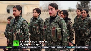 getlinkyoutube.com-Her War: Women vs. ISIS (RT Documentary)