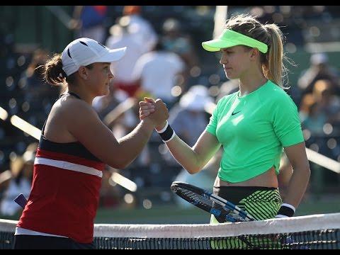 2017 Miami Open First Round | Ashleigh Barty vs Genie Bouchard | WTA Highlights