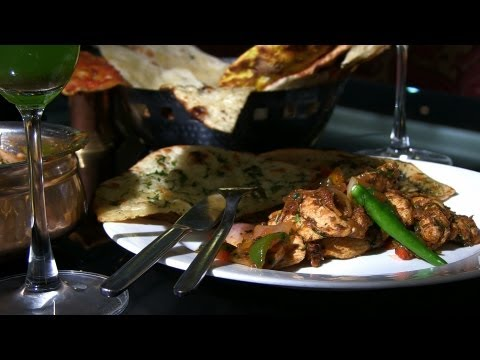 Indian Restaurant Special - Kadai Chicken at Zaffran