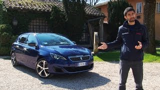 "getlinkyoutube.com-Peugeot 308 GT (1.6 turbo 205 CV) | Chi si ""accontenta"" gode"