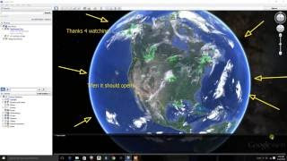 How to fix google earth on windows 10