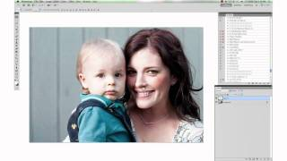 getlinkyoutube.com-Brightening Shadows and Softening Harsh Lines from Sun in Photoshop by Paint the Moon