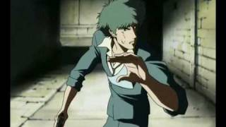 Cowboy bebop - Spike's martial arts