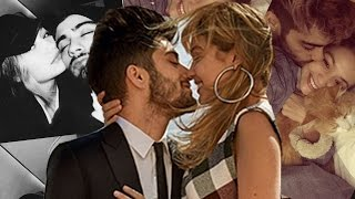 getlinkyoutube.com-9 Cutest Zayn & Gigi Hadid Moments