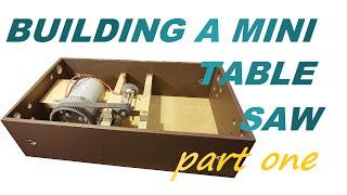 getlinkyoutube.com-HOW I BUILT MY MINI TABLE SAW, PART 1