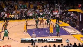 getlinkyoutube.com-2010 NBA Finals - Boston vs Los Angeles - Game 7 Best Plays
