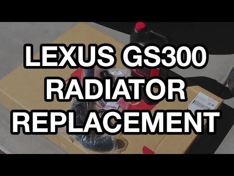 1998-2005 Lexus GS300 Radiator Replacement