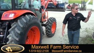 getlinkyoutube.com-Kioti RX 7320 New Tractor Release Maxwell Farm Service