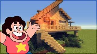 getlinkyoutube.com-Minecraft: Construindo a Casa de Praia do Steven Universe