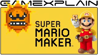 Could the Angry Sun Come to Super Mario Maker as DLC?!