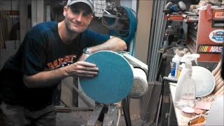 "getlinkyoutube.com-Woodturning - 12"" Sanding Disc"