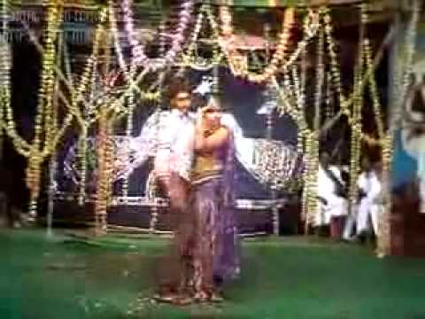 telugu andhra boy and girl stage recording dance 1/2