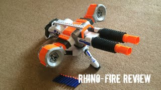 Nerf N-Strike Elite Rhino-Fire Unboxing, Review & Range Test