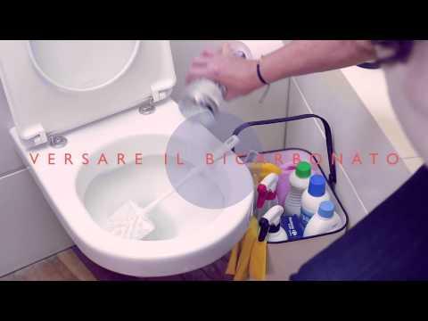 Come pulire le incrostazioni del wc