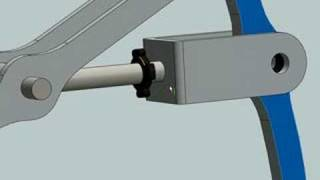 getlinkyoutube.com-Worm-gear & spider leg simulation @ SolidWorks