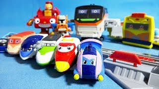 getlinkyoutube.com-또봇 트레인 히어로 뽀로로 또봇 팽이 슈터 뚜뚜 장난감 Train Heroes Tobot Pororo toys