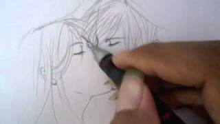 getlinkyoutube.com-วิธีวาดการ์ตูน(ฉากจูบ)