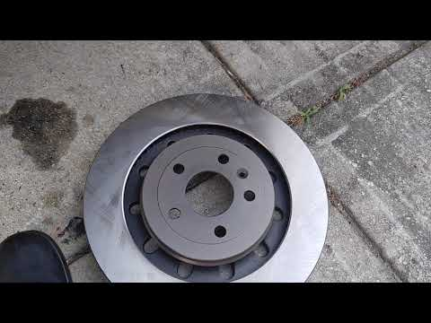 LINCOLN MKX 2016 FRONT BRAKE PADS AND ROTORS REPLACEMENT