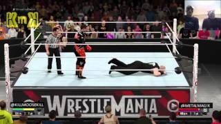 getlinkyoutube.com-Erick Rowan vs Stardust in WWE 2k16 w@metalmagix