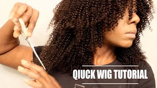 getlinkyoutube.com-HOW TO MAKE & CUT LAYERS IN A CURLY WIG| FESHFEN| BEAUTYCUTRIGHT