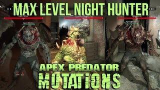 getlinkyoutube.com-Dying Light - All Night Hunter Mutations Skill Showcase - Be the Zombie - Max Level Apex Predator