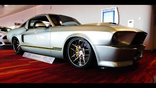 "getlinkyoutube.com-1967 Ford Mustang Street Machine ""Tomahawk"" The SEMA Show 2016"