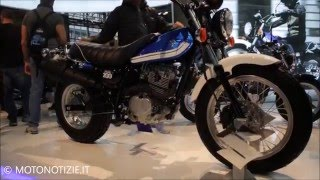 getlinkyoutube.com-EICMA 2015 : video Suzuki Van Van 200
