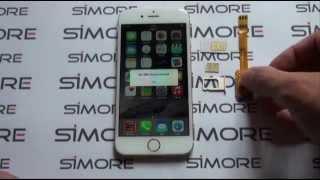 getlinkyoutube.com-iPhone 6 - Dual SIM Adapter 4G for iPhone 6 and 6 Plus iOS 8 - SIMore X-Twin-6