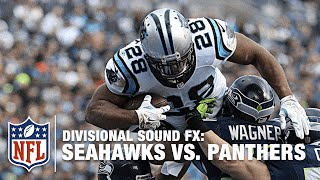 getlinkyoutube.com-'Sound FX': Seahawks vs. Panthers (Divisional) | NFL