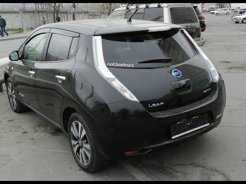 NotBadCars обманул с Nissan LEAF для подписчика