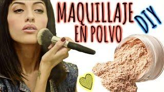 getlinkyoutube.com-DIY: Maquillaje en polvo / Polvo suelto.♥