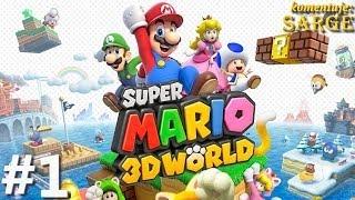 getlinkyoutube.com-Zagrajmy w Super Mario 3D World odc. 1 - Najlepsza platformówka na Wii U! (Świat 1 / World 1)