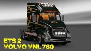 getlinkyoutube.com-Euro Truck Simulator 2 - Volvo VNL 780 - Buy and Customize - PC HD